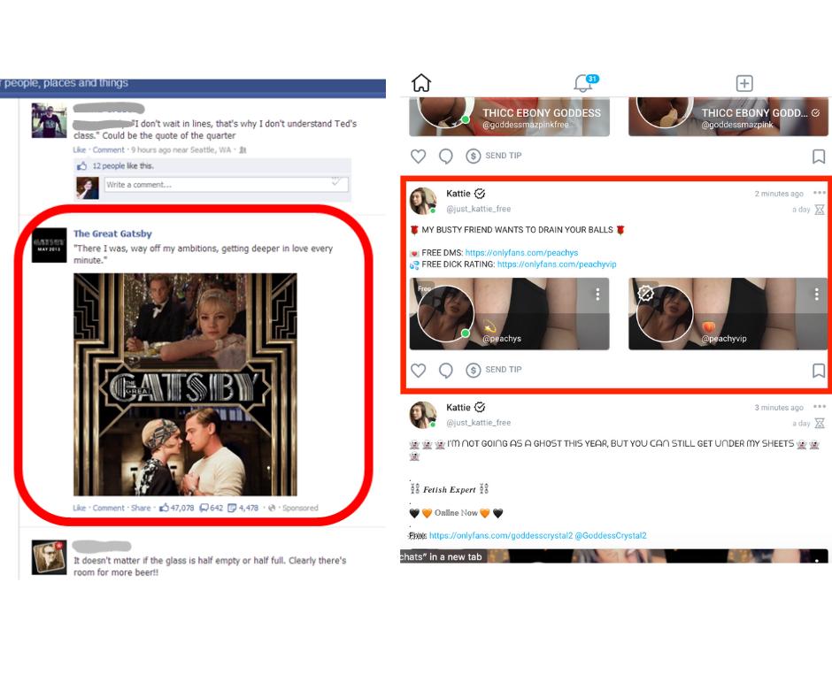 facebook ad vs onlyfans