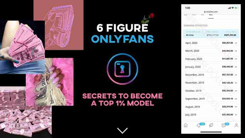 6 figure OnlyFans - the bible of OnlyFans